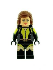 Silk Spectre (Laurie Juspeczyk - Watchmen) - Custom Designed Minifigure